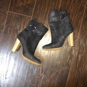 Le Chateau, navy boots size 8